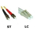 ST to LC Multimode Duplex