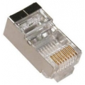 RJ45 Shielded Solid Plug