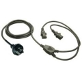2m IEC Y Cable 3PIN Male - 2 x IEC Female