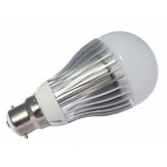 LED light bulb B22 bayonet replacement globe