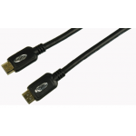 1.8m High Speed With Ethernet Gold HDMI Cable 1.4